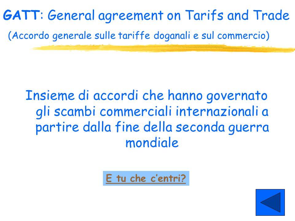 1998: la Commissione arbitrale WTO (anche su parere di esperti vicini alla Monsanto) dà torto allUE e nel 1999 le impone sanzioni per 116,8 ml di doll