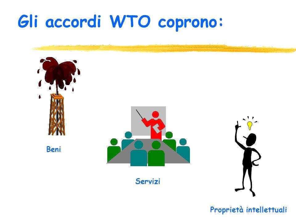 Stipulare accordi (agreements) economici negoziati e firmati dalla maggior parte delle nazioni. Tali accordi sono veri e propri contratti firmati dai