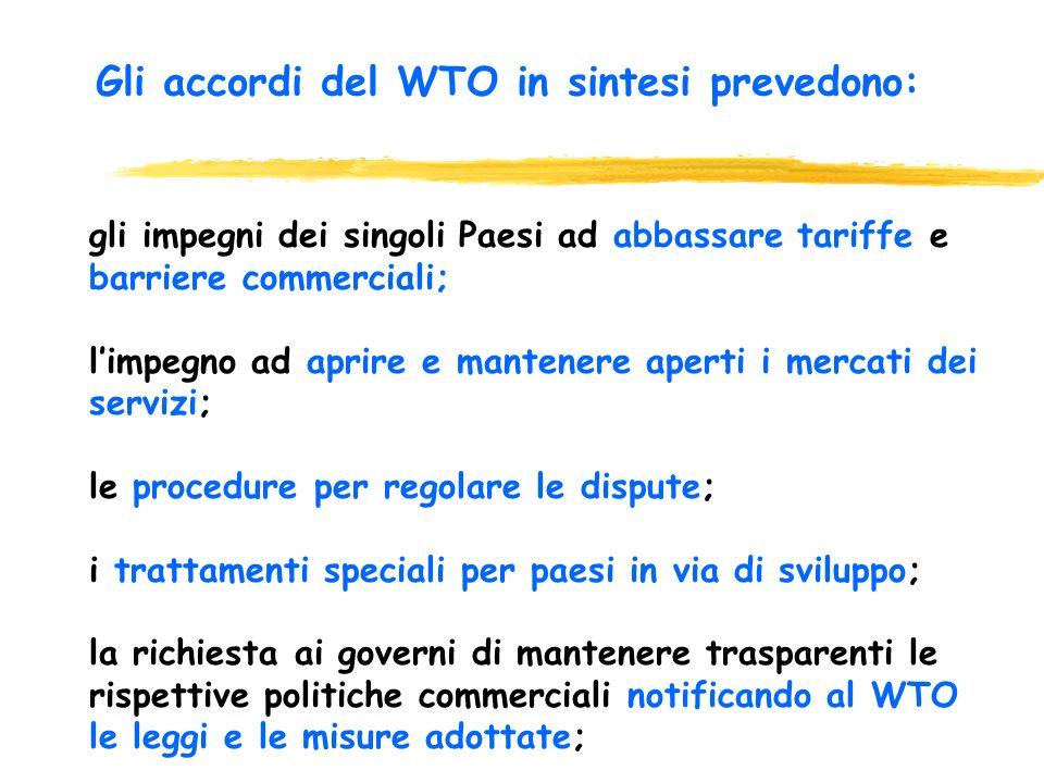 Dopo Seattle Le richieste di Lilliput zAumentare il controllo sui negoziatori per una maggiore democrazia e trasparenza zMaggiore trasparenza nellORD zRiportare il WTO in ambito di Nazioni Unite zUn nuovo contratto per il Sud