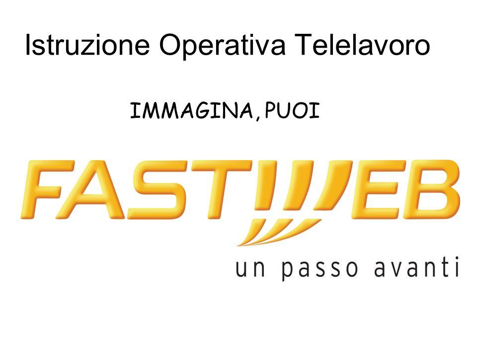 Istruzione Operativa Telelavoro IMMAGINA, PUOI