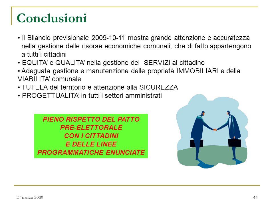 Spese per investimenti (2) 27 marzo 200943 DENOMINAZIONE INTERVENTO Viabilità: strada Serrone/Valle (Fontecupa) Viabilità: strada Maestà Viabilità ann