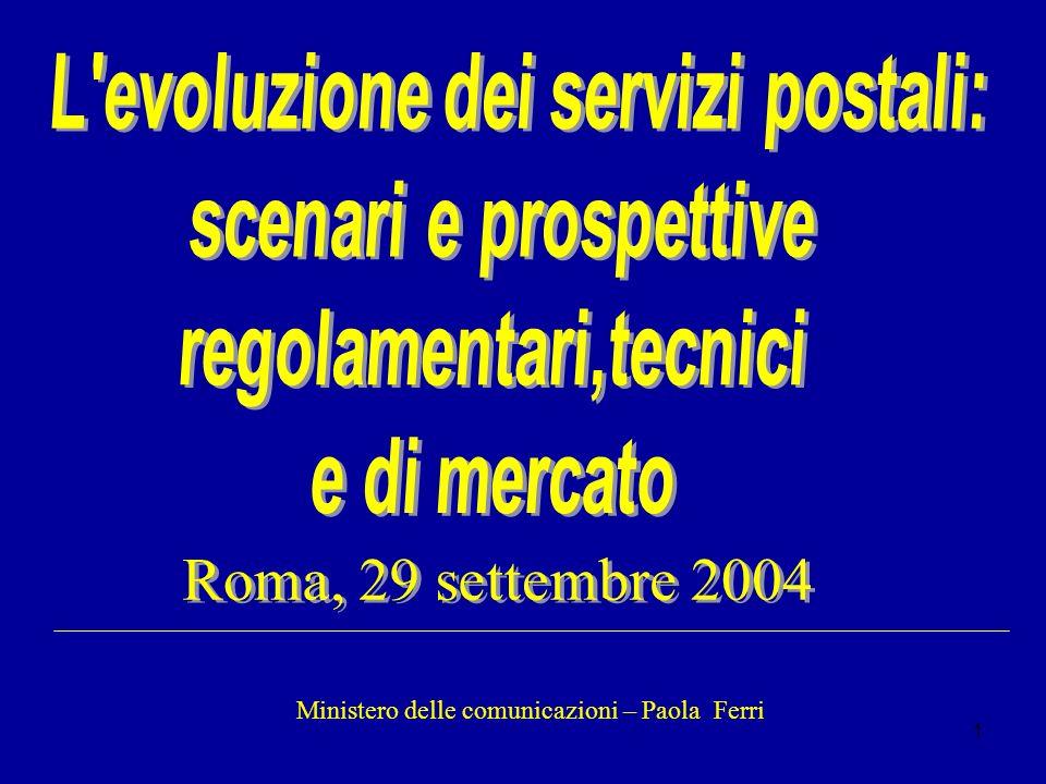 1 Ministero delle comunicazioni – Paola Ferri