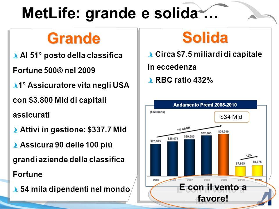 Alico un anno dopo … Giugno - Luglio 2009 Creazione SPV Rebranding Annuncio IPO Marzo 2010 MetLife - Annuncio acquisizione Fine 2010 Completamento tra