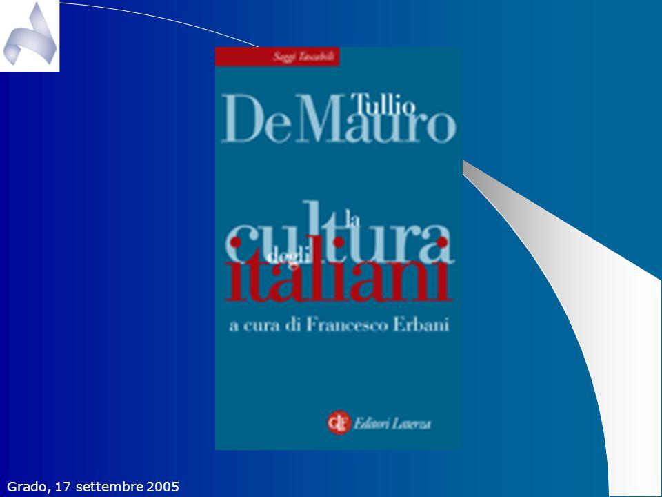 La cultura degli italiani Tullio De Mauro - Ed.