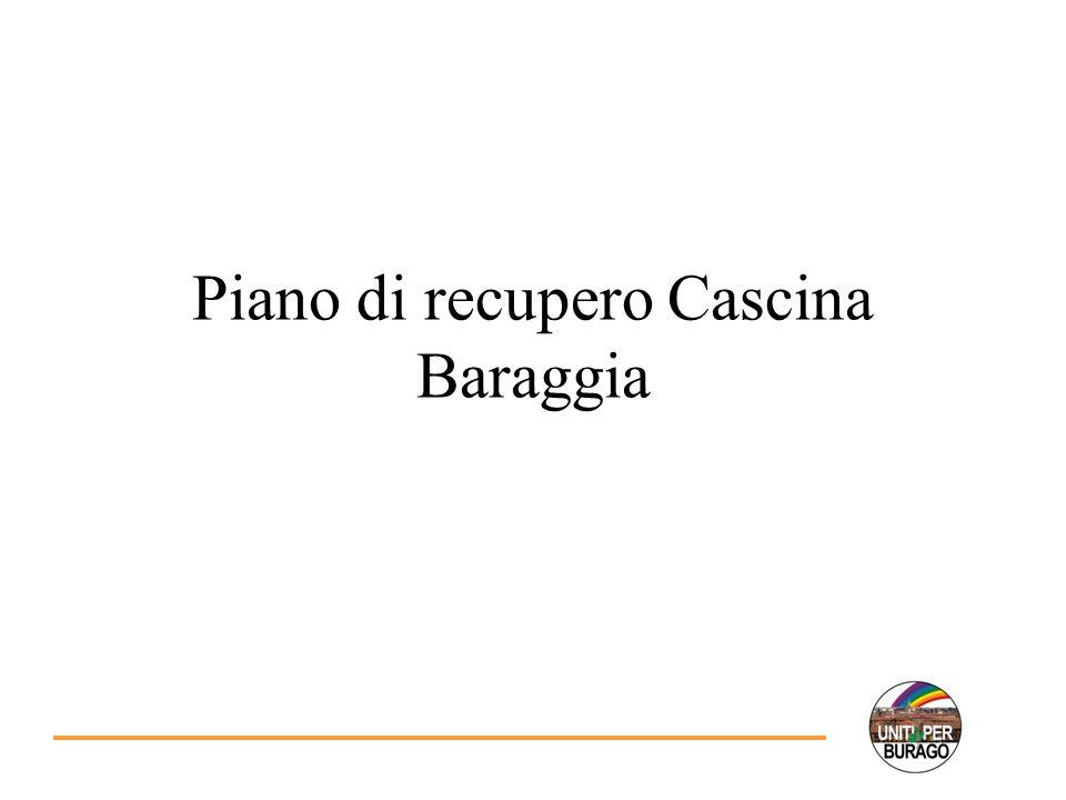 Piano di recupero Cascina Baraggia