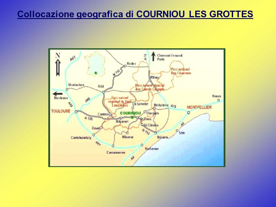 Collocazione geografica di COURNIOU LES GROTTES