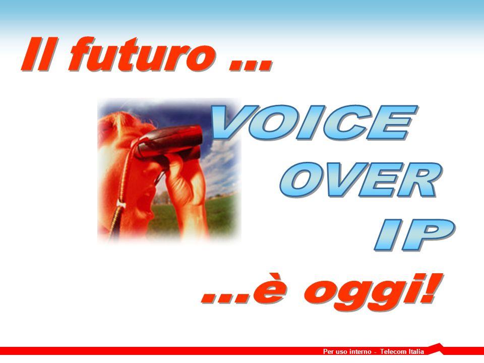 Per uso interno - Telecom Italia