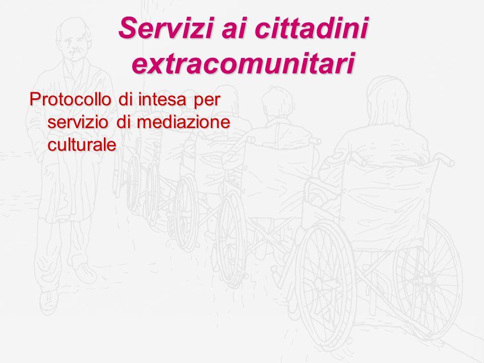 Welfare Community Protocollo di intesa con le associazioni di volontariato presenti nel territorio comunale per la gestione di servizi alla persona alla persona