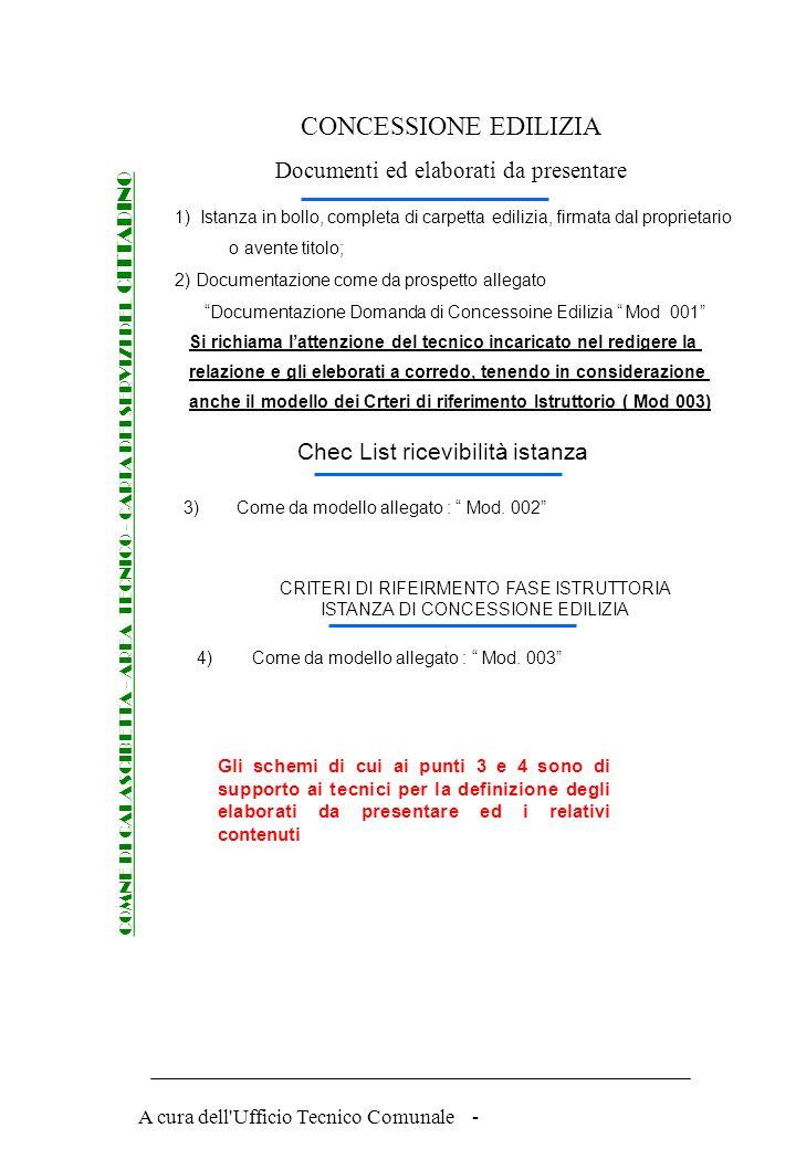 A cura dell'Ufficio Tecnico Comunale - Procedure per rilascio della CONCESSIONE EDILIZIA COMNE DI CALASCIBETTA - AREA TECNICO - CARTA DEI SERVIZI DEL
