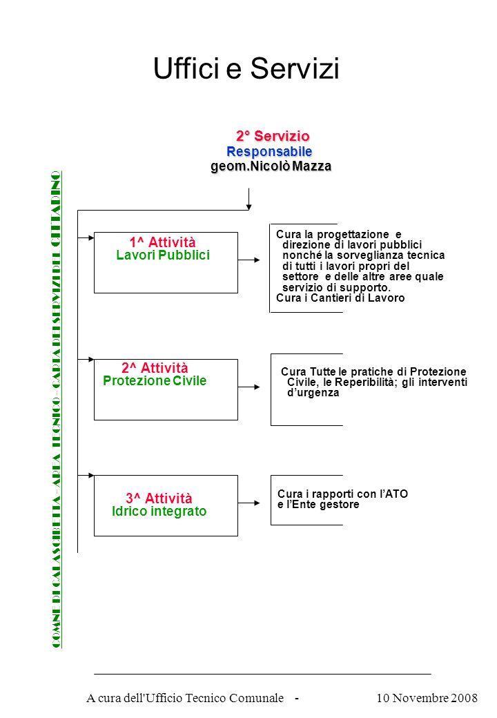 A cura dell Ufficio Tecnico Comunale - Procedure per rilascio del CERTIFICATO DI DESTINAZIONE URBANISTICA COMNE DI CALASCIBETTA - AREA TECNICO - CARTA DEI SERVIZI DEL CITTADINO