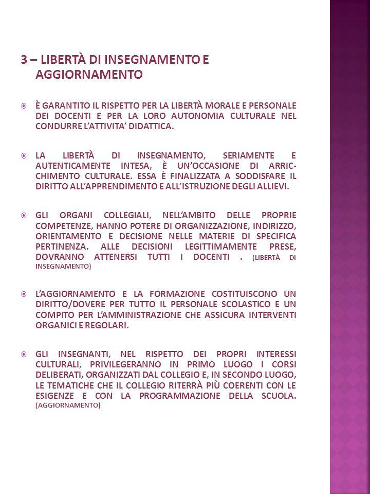 4 – COLLABORAZIONE FONDAMENTALE PER IL CONSEGUIMENTO DEGLI OBIETTIVI DIDATTICI ED EDUCATIVI È LA COLLABORAZIONE TRA LE DIVERSE COMPONENTI DELLA SCUOLA: DIRIGENTE DOCENTI PERSONALE ATA ALUNNI GENITORI EQUIPE SOCIO-PSICO-PEDAGOGICA LA SCUOLA, CONSAPEVOLE DI QUANTO SOPRA AFFERMATO, ATTUA OGNI ANNO INIZIATIVE TENDENTI A CONCRETIZZARE AL SUO INTERNO UNA COLLABORAZIONE SEMPRE PIÙ EFFICACE.