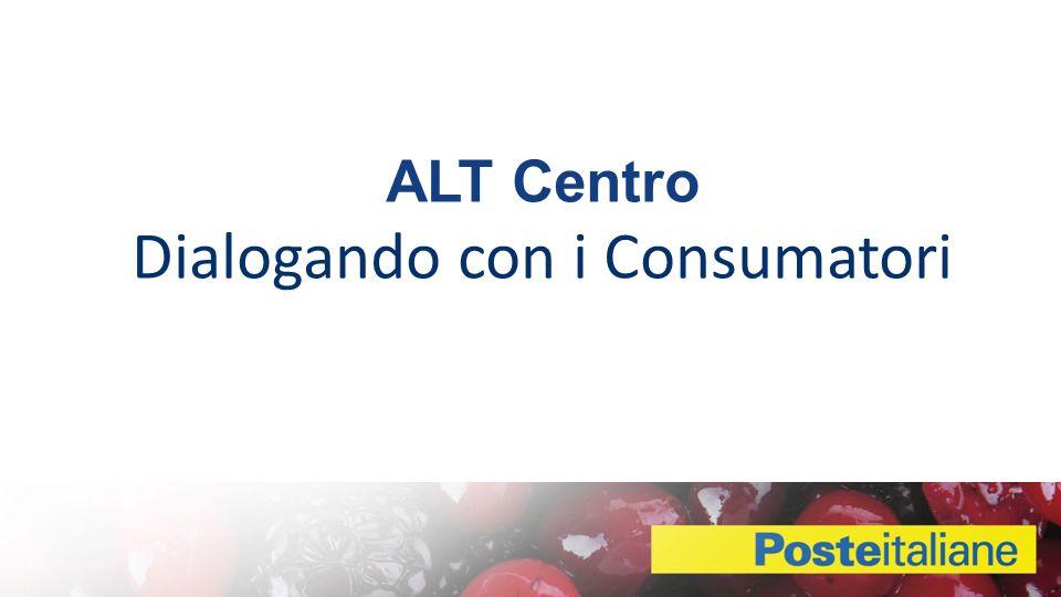 ALT Centro Dialogando con i Consumatori