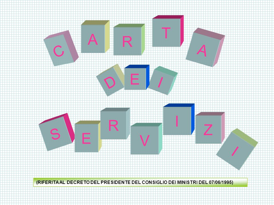 La seguente carta dei servizi dellIstituto Comprensivo Leone Caetani ha quali principi ispiratori gli artt.