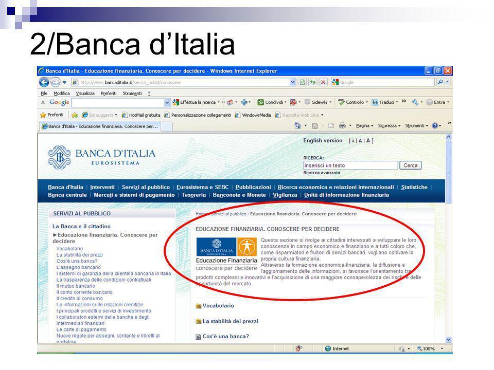2/Banca dItalia