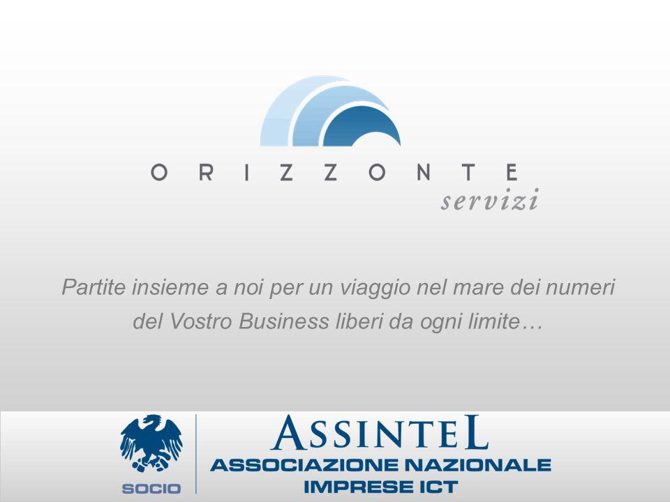 Partite insieme a noi per un viaggio nel mare dei numeri del Vostro Business liberi da ogni limite…