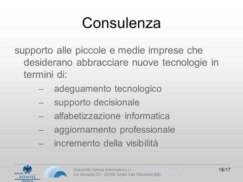 Orizzonte Servizi Informatici s.r.l.