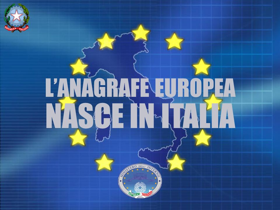LANAGRAFE EUROPEA NASCE IN ITALIA