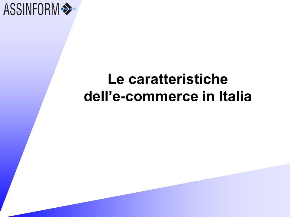 Le caratteristiche delle-commerce in Italia