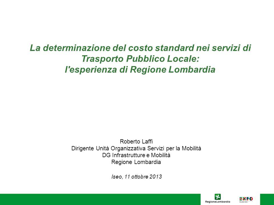 Nei servizi automobilistici il costo del personale pesa per il 50-56% sulla struttura dei costi standard 12
