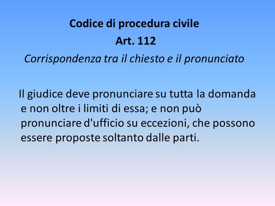 Codice di procedura civile Art.