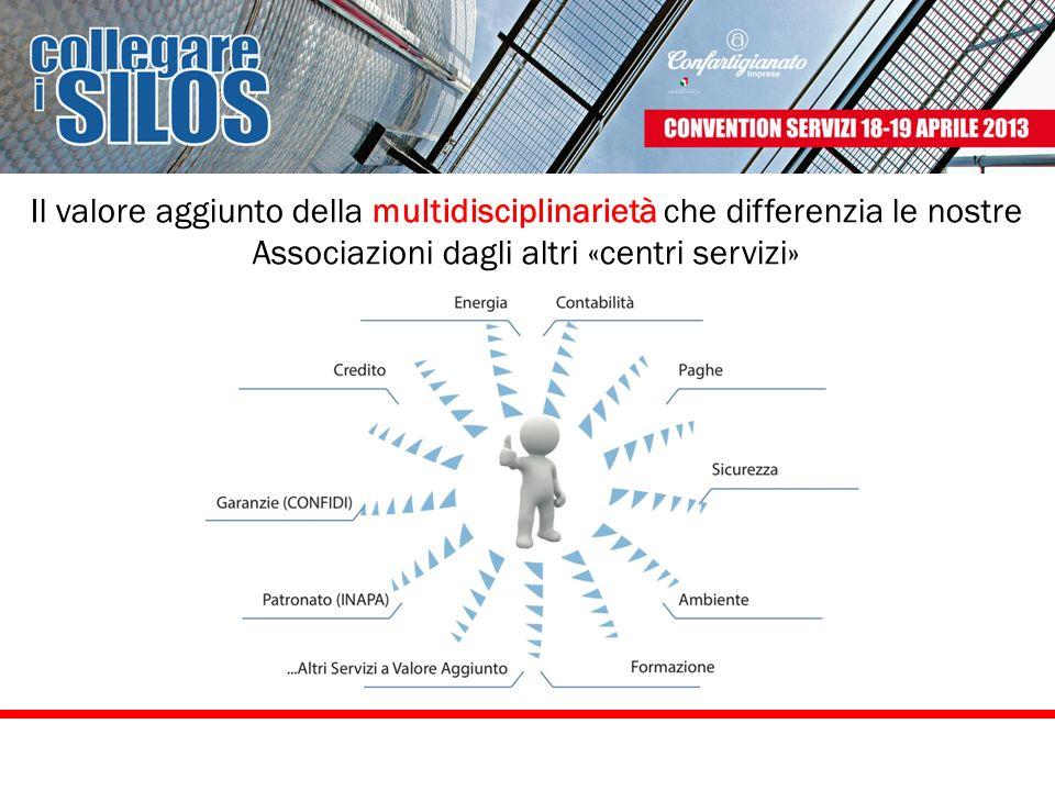 Il valore aggiunto della multidisciplinarietà che differenzia le nostre Associazioni dagli altri «centri servizi»