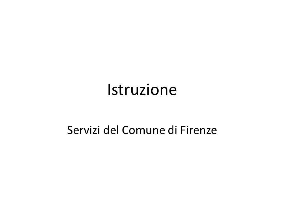 Istruzione Servizi del Comune di Firenze