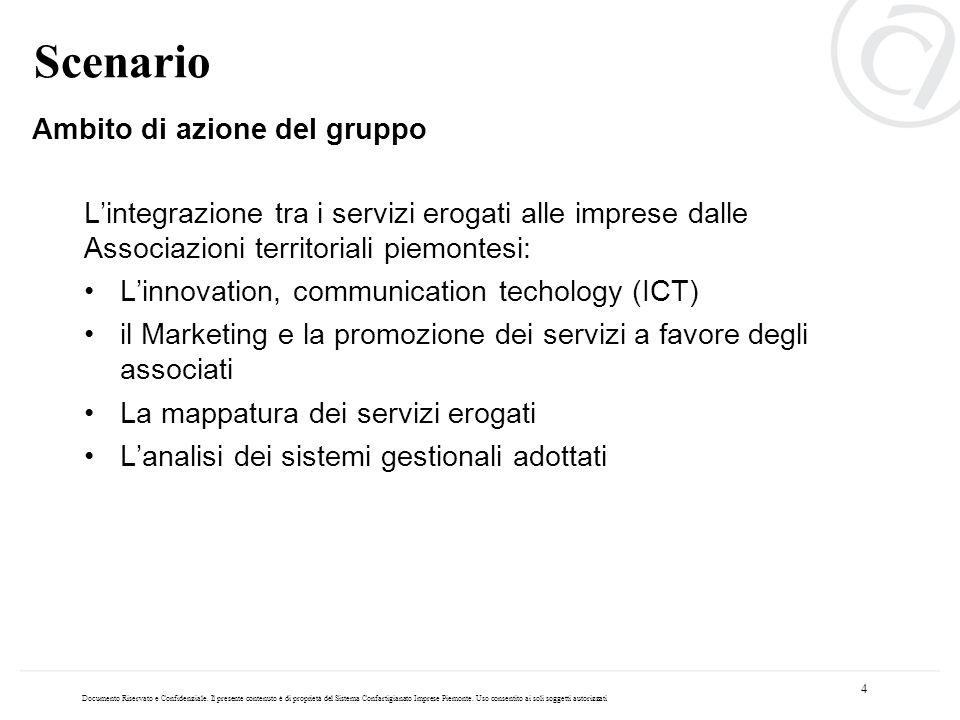 Lintegrazione tra i servizi erogati alle imprese dalle Associazioni territoriali piemontesi: Linnovation, communication techology (ICT) il Marketing e