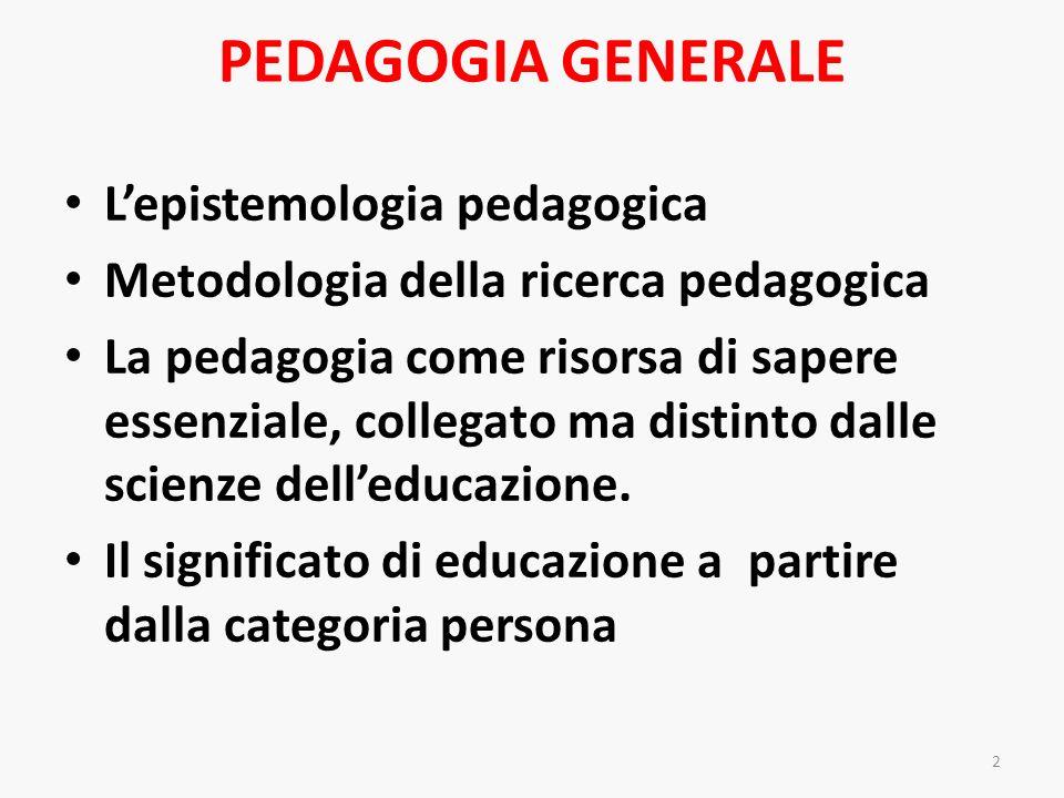MEDIA E TECNOLOGIE EDUCATIVE Le potenzialità formative e professionalizzanti dei media, per insegnanti e educatori, anche nella prospettiva del lifelong learning.