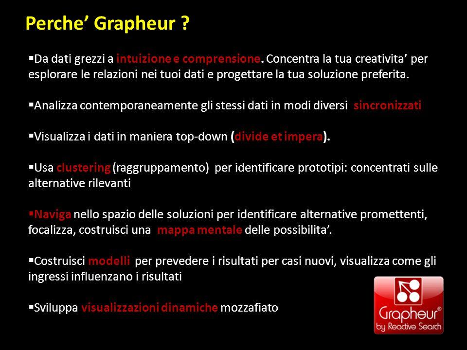 Perche Grapheur . Da dati grezzi a intuizione e comprensione.