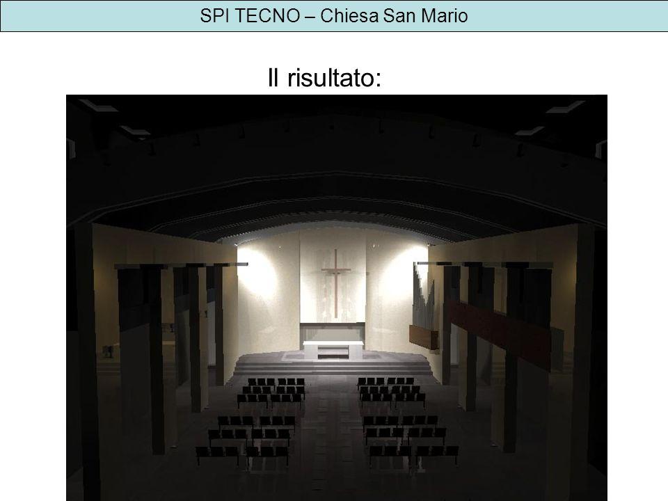 SPI TECNO – Chiesa San Mario Il risultato: