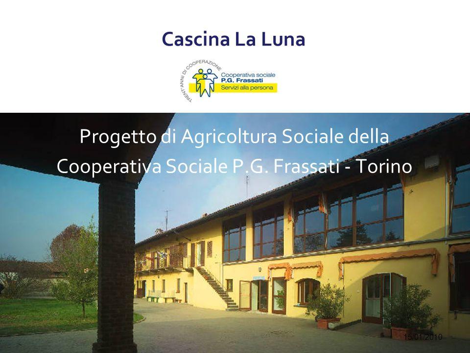 Cascina La Luna Progetto di Agricoltura Sociale della Cooperativa Sociale P.G.