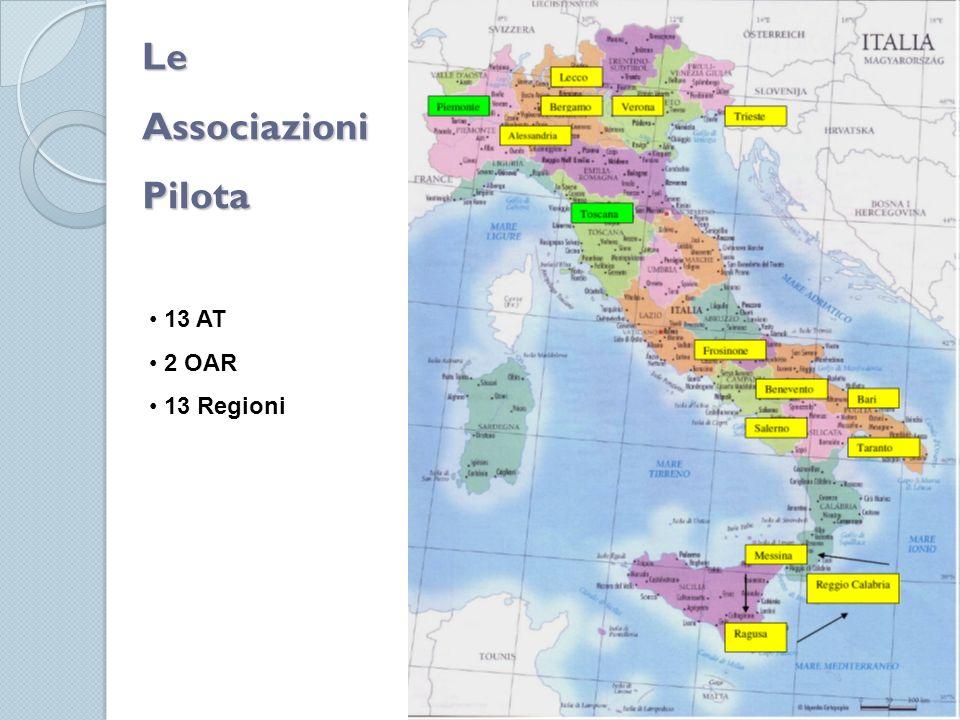 LeAssociazioniPilota 13 AT 2 OAR 13 Regioni