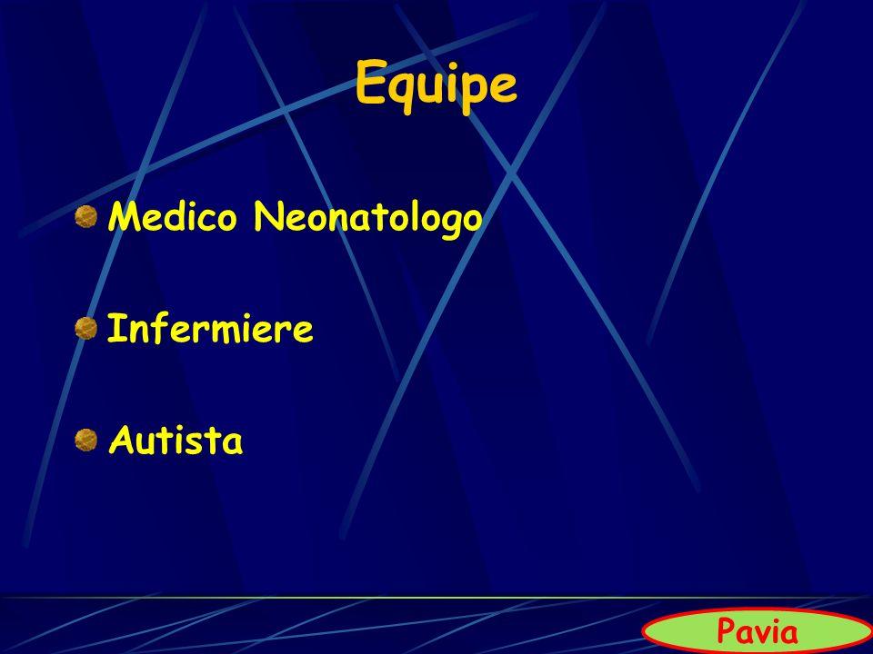 Equipe Medico Neonatologo Infermiere Autista Pavia