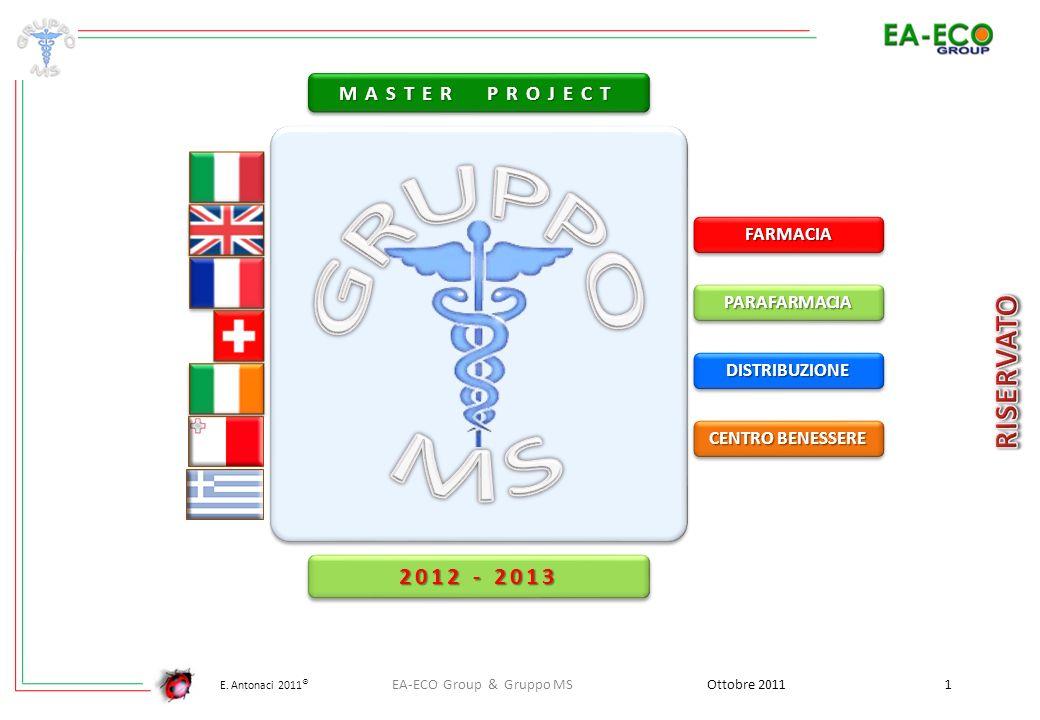 E. Antonaci 2011 ® Ottobre 2011 2 EA-ECO Group & Gruppo MS