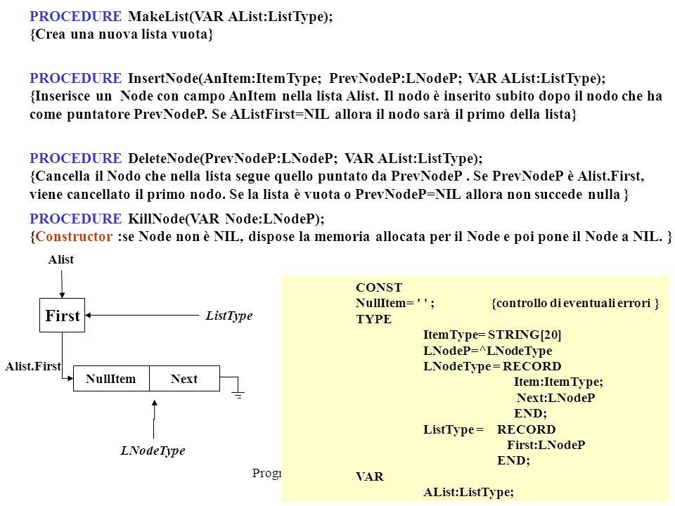 Programmazione Mod.B - prof.