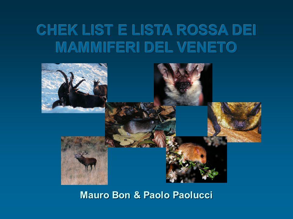 Cosa sono le Liste Rosse Le liste rosse sono elenchi di specie vegetali e animali estinte, sterminate o non più reperibili, o più o meno gravemente minacciate in una determinata regione J.Gepp, 1994.