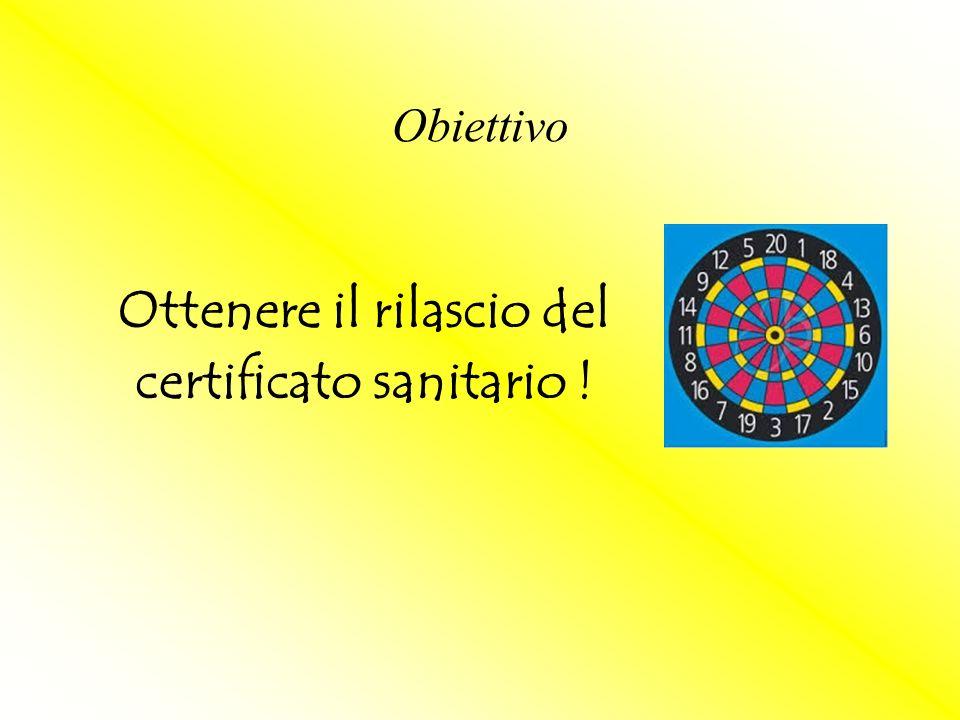Primo certificato: prima possibile Dal secondo invio: Il Veterinario deve essere avvisato della necessità del certificato almeno 24 ore prima.