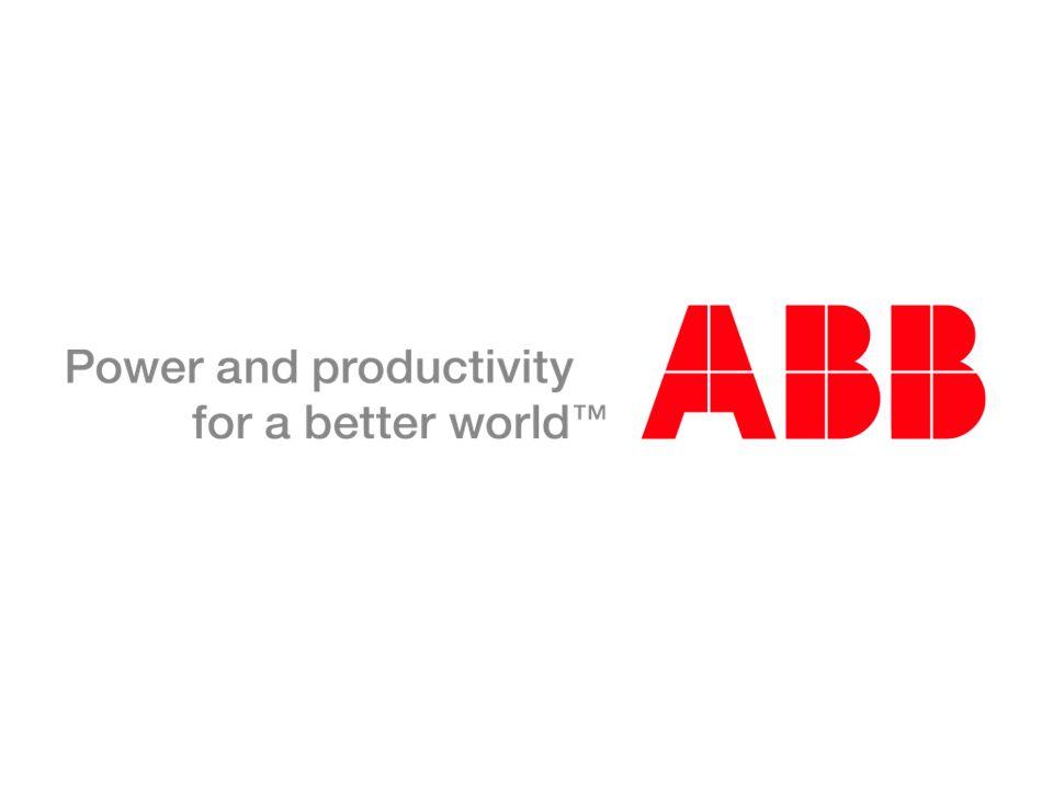 © ABB Group April 19, 2014 | Slide 41