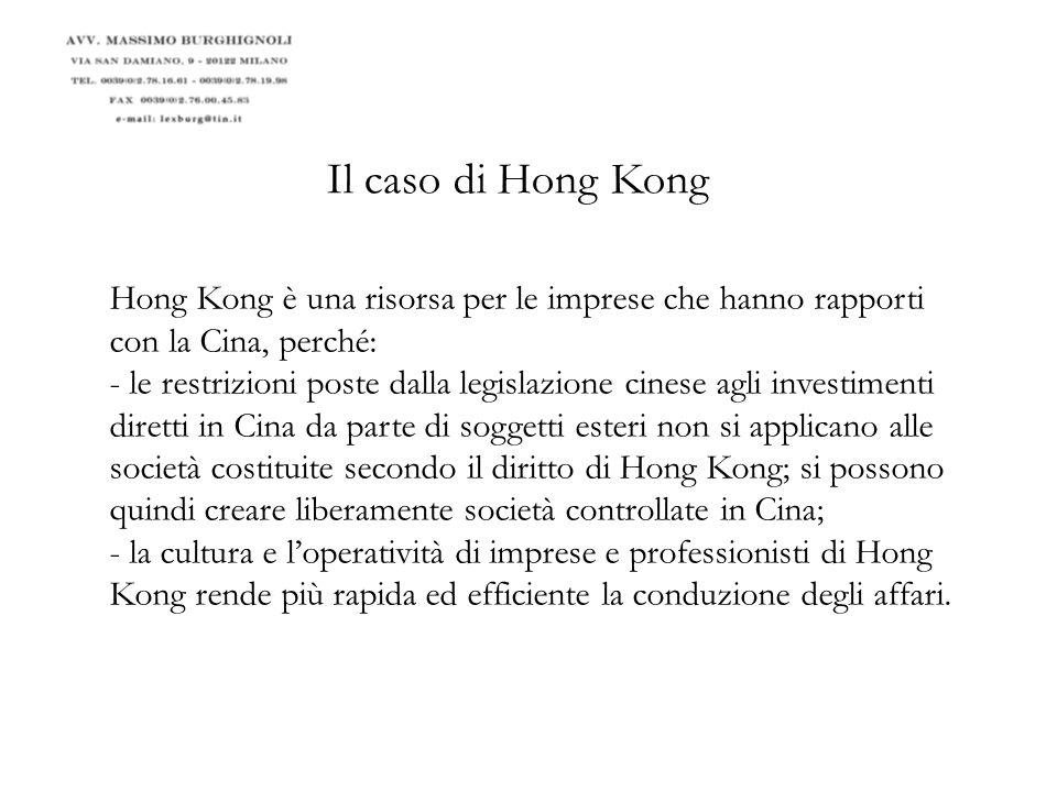 Trattati bilaterali conclusi da Hong Kong: il 7-4-2010, Mr.