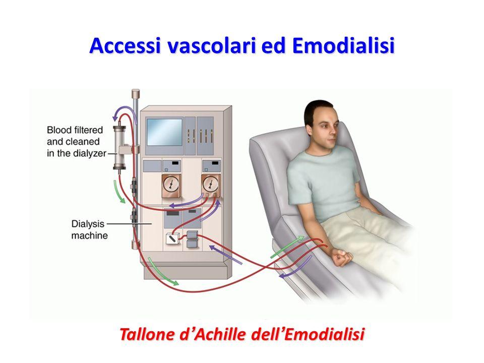 Accessi vascolari ed Emodialisi Tallone d Achille dell Emodialisi