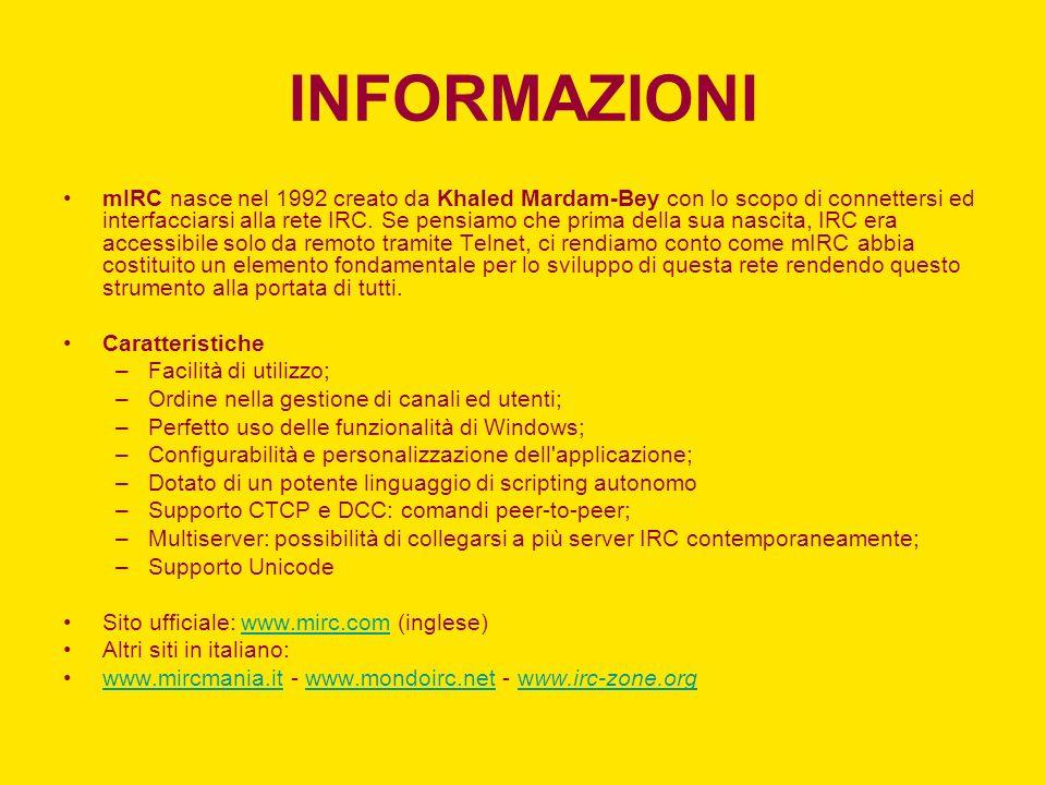 COME SCARICARLO Andate sul sito www.irc-zone.org e cliccate dal menù a sinistra la voce Download mIRC.www.irc-zone.orgDownload mIRC Dalla lista scaricate nel vostro desktop o in una cartella il file dinstallazione dell0ultima versione italiana (1) oppure inglese (2).