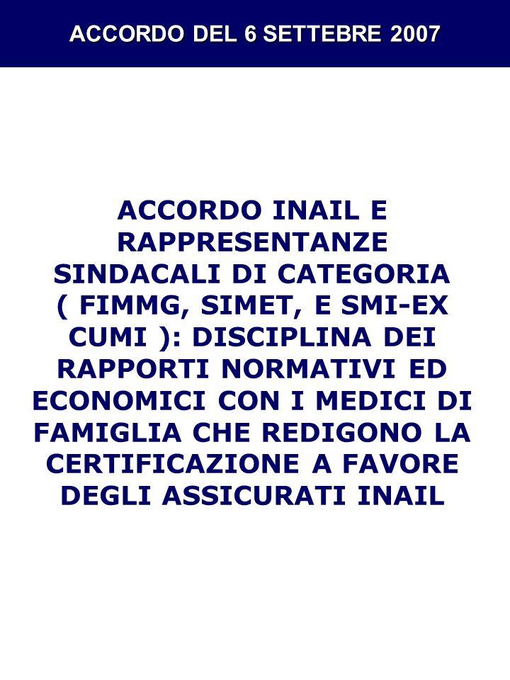 PREMESSE Il comma 1 dellart.12 della legge 67/88 stabilisce che lINAIL provvede agli accertamenti, alle certificazioni e ad ogni altra prestazione medico-legale sui lavoratori infortunati e tecnopatici.
