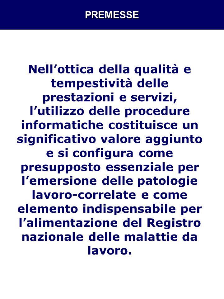 DENUNCIA/SEGNALAZIONE MALATTIA art.139 DPR 1124/65 e art.