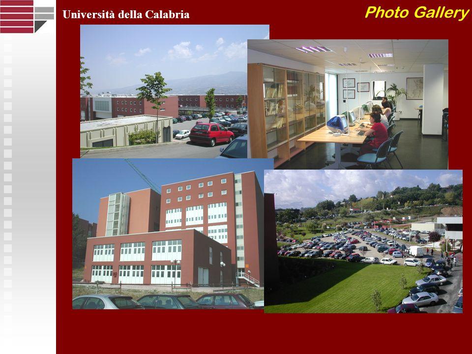 Photo Gallery Università della Calabria
