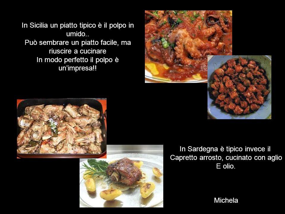 In Sicilia un piatto tipico è il polpo in umido.. Può sembrare un piatto facile, ma riuscire a cucinare In modo perfetto il polpo è unimpresa!! In Sar