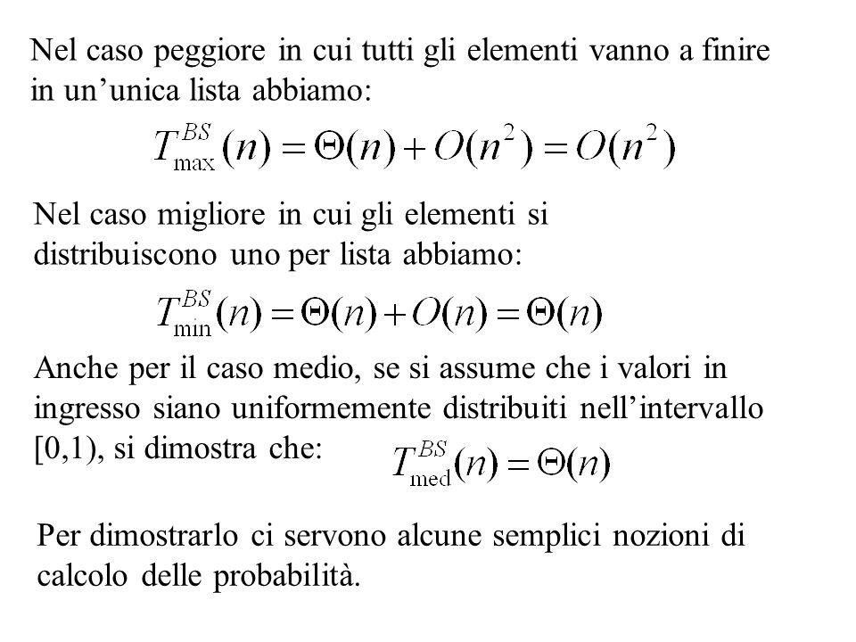 Usiamo il metodo di sostituzione assumendo che la soluzione sia del tipo Se esistono due costanti k 1 e k 2 che soddisfano per ogni n>1 abbiamo trovato la soluzione.