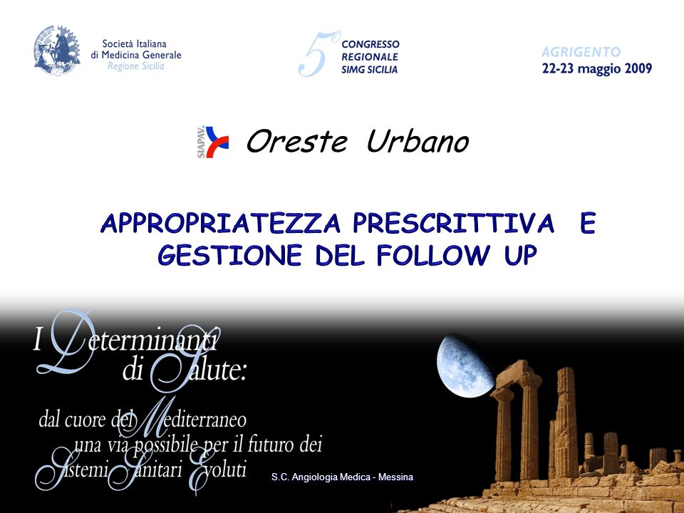 Oreste Urbano S.C. Angiologia Medica - Messina
