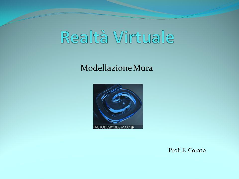 Modellazione Mura Prof. F. Corato