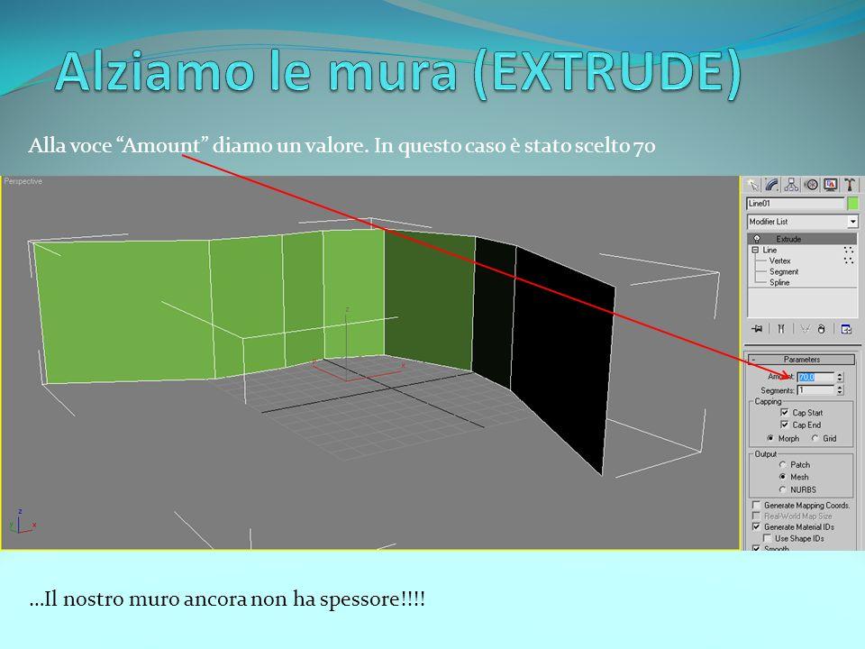 E possibile migliorare la visuale aumentando il numero di steps alla voce interpolation