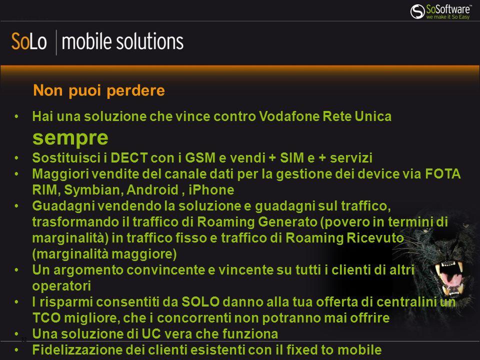 Conosci bene SoLo mobile solutions.